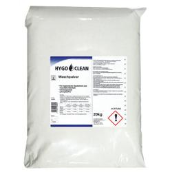HYGOCLEAN Waschpulver, Vollwaschmittel für hygienische Sauberkeit und fasertiefe Reinheit, 20 kg – Sack