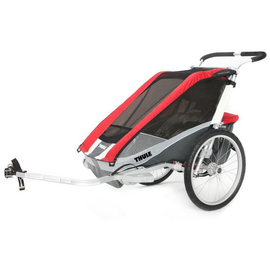 Thule Chariot Cougar 2 red 2019