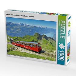 Brienzer Rothorn-Bahn (Zahnradbahn), Schweiz. Lege-Größe 64 x 48 cm Foto-Puzzle Puzzle
