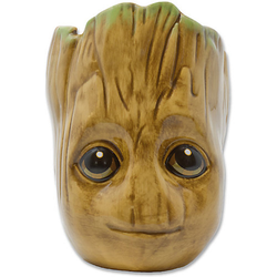 Skulptur-Tasse Baby Groot, 454 ml braun