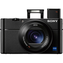Sony DSC-RX100 VA Kompaktkamera (Carl Zeiss Vario Sonnar T*, 20,1 MP, NFC, WLAN (Wi-Fi)