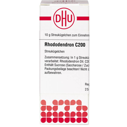 RHODODENDRON C 200 Globuli 10 g