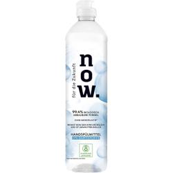 Palmolive NOW Handspülmittel, 0,55 Liter, Spülmittel für empfindliche und sensible Haut, 0% Duftstoffe