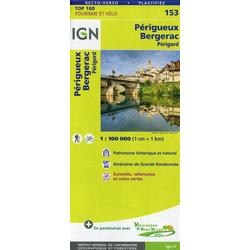 Périgueux Bergerac 1:100 000