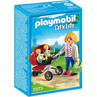 Playmobil City Life Zwillingskinderwagen 5573
