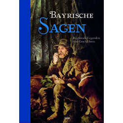 Bayrische Sagen als Buch von