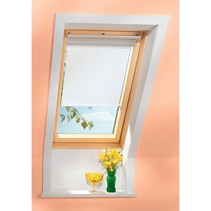 VELUX Sichtschutzrollo , für Fenstergröße 204 und 206, weiß weiß 204/206