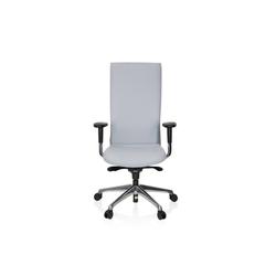 hjh OFFICE Drehstuhl hjh OFFICE High End Bürostuhl OFFICE-TEC grau