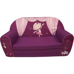 Kindersofa, miniclara, lila