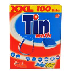 Tinmatic Tabs XXL, Geschirr-Reiniger-Tabs, 1 Packung = 100 Tabs