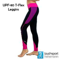 UPF-80 T-Flex - Leggins - Damen - Jewel - Gr: XS