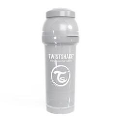 TWISTSHAKE Trinkflasche Anti-Kolik 260 ml pastel grau