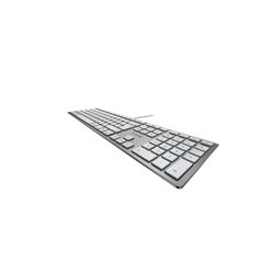 Cherry Corded Mac Keyboard Tastatur (CHERRY KC 6000 SLIM FOR MAC)