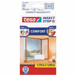 TESA tesa® Insect Stop Fliegengitter Fliegengitter für Fenster weiß 170 x 180 cm
