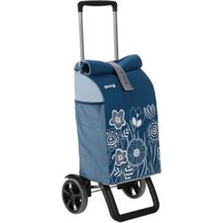 Gimi Einkaufstrolley Rolling Blau 154679