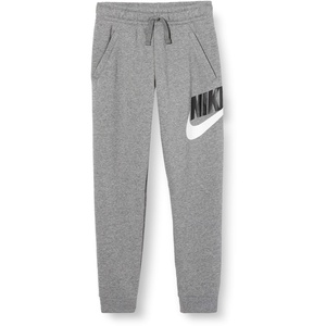 Nike Jungen Sportswear Club Fleece Jogginghose, Carbon Heather/Smoke Grey, M