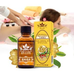 Ingweröl Ingwer ätherisches Öl Spa Massageöle Ölmassage ätherische Öl Lymphdrainage Stressabbau Behandlung