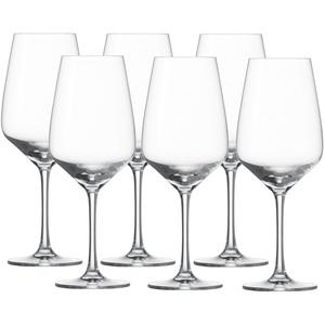 SCHOTT ZWIESEL Serie TASTE Rotweinglas 6 Stück Inhalt 497 ml Rotwein