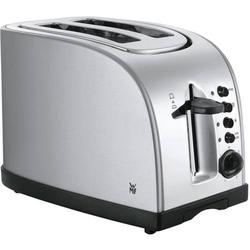 WMF STELIO Toaster mit Bagel-Funktion, mit Brötchenaufsatz Edelstahl