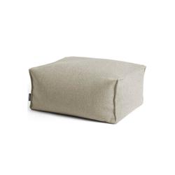 mokebo Pouf Der Ruhepouf, Indoor Sitzkissen, Sitzhocker & Sitzpouf, in rund o. eckig & vielen Farben beige 65 cm x 35 cm x 50 cm