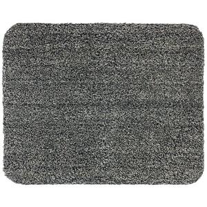 Astra Fußmatte Entra Saugaktiv 601075040 (Uni, Anthrazit, 75 x 130 cm, Material Nutzschicht: 100 % Baumwolle)