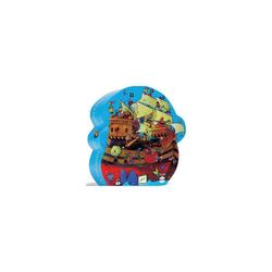 DJECO Puzzle Puzzle Boot, 54 Teile, Puzzleteile