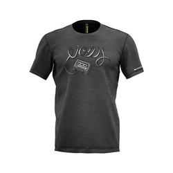 Crazy Idea Live to Climb T-Shirt Men gray