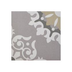 Casa Moro Fliesenaufkleber Orientalische Fliesen Genna 20x20 cm 1 qm glasiertes Feinsteinzeug in Zementoptik, Bodenfliesen & Wandfliesen für schöne Küche Bad Flur & Badezimmer, FL7019