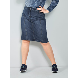 Jeansrock MIAMODA Dark blue