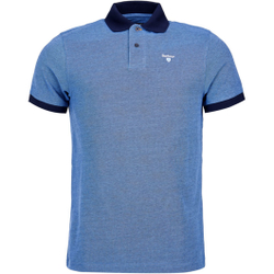 Barbour - Sports Polo Mix Navy - Poloshirts - Größe: M
