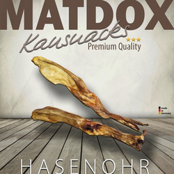 MATDOX Premium Hasenohren - 10 Stück
