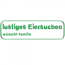 Ostern Holzstempel - Eiersuche (70x20 mm)