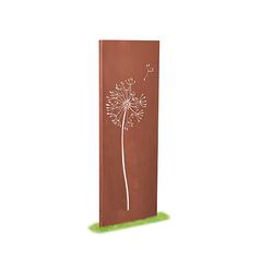 prima terra Deko- und Sichtschutzelemente Edelrost Bambus