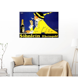 Posterlounge Wandbild, Söhnlein Rheingold 100 cm x 70 cm