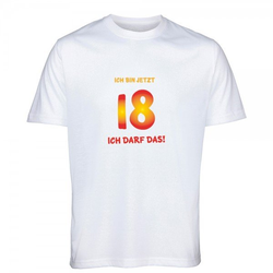 T-Shirt zum 18.Geburtstag