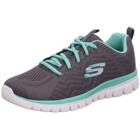 SKECHERS Graceful - Get Connected charcoal/green 39