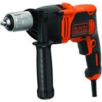Black & Decker Schlagbohrmaschine BEH850-QS orange/schwarz, 850W