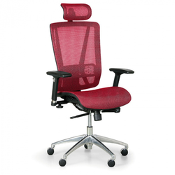 Bürostuhl lester m, rot