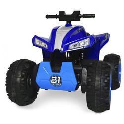 Elektrisches Quad Lamas Spielzeug ATV 4x4 Blau