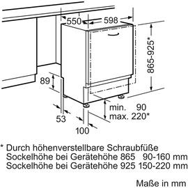 Bosch Serie 6 SBV68TX06E