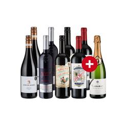 9er Paket Rotweinklassiker mit Cremant - Weinpakete