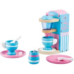 Legler Kinder-Kaffeemaschine Kaffeemaschine Kinderküche, (7-tlg)
