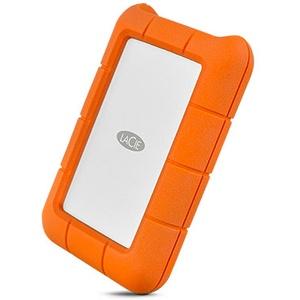 LaCie Rugged USB-C, 1000 GB, 2.5 Zoll, 3.2 Gen 1 (3.1 Gen 1), Orange, Silber
