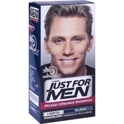 JUST for men Tönungsshampoo hellbraun 60 ml