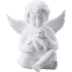 Rosenthal Engelfigur Engel mit Hund (1 Stück) 8,8 cm x 10,2 cm x 9,2 cm