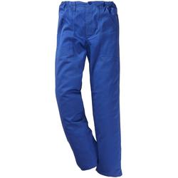 Arbeitshose blau 58