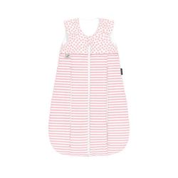 Odenwälder Babyschlafsack Thinsulate-Schlafsack primaklima, stripes silber rosa 70