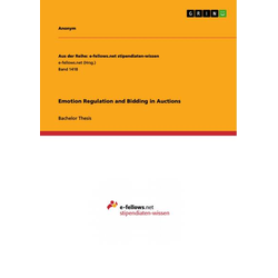Emotion Regulation and Bidding in Auctions