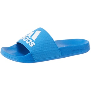 adidas Mens Adilette Sandal, Blau (True Blue/Cloud White/True Blue), 42 EU