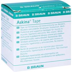 Askina Tape Pfl.Unelast.3,8 Cmx10 m Weiß